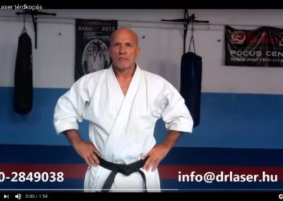 Térdkopás karate sportban